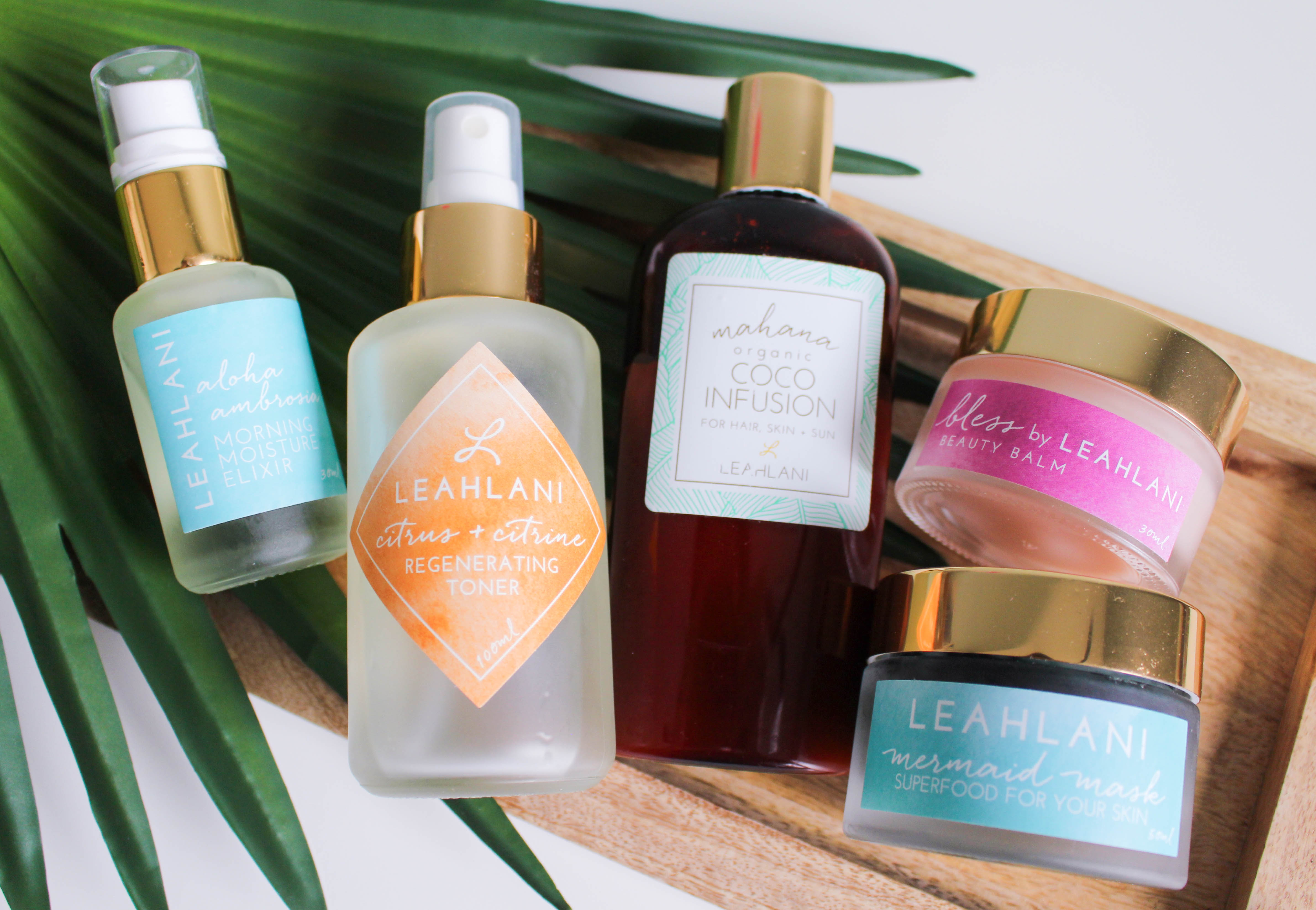 Leahlani Skincare's Island-Inspired Products Promote